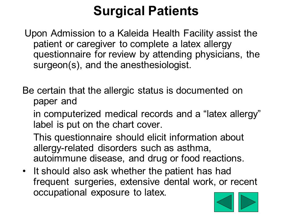 Surgical Patients