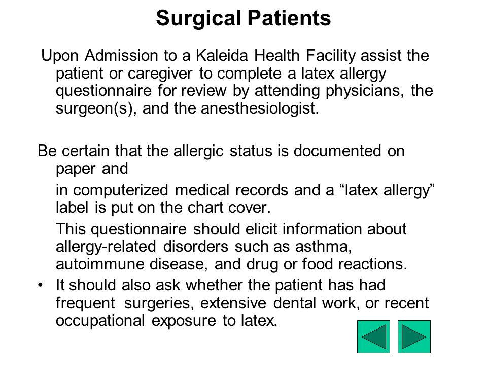 Surgical Patients