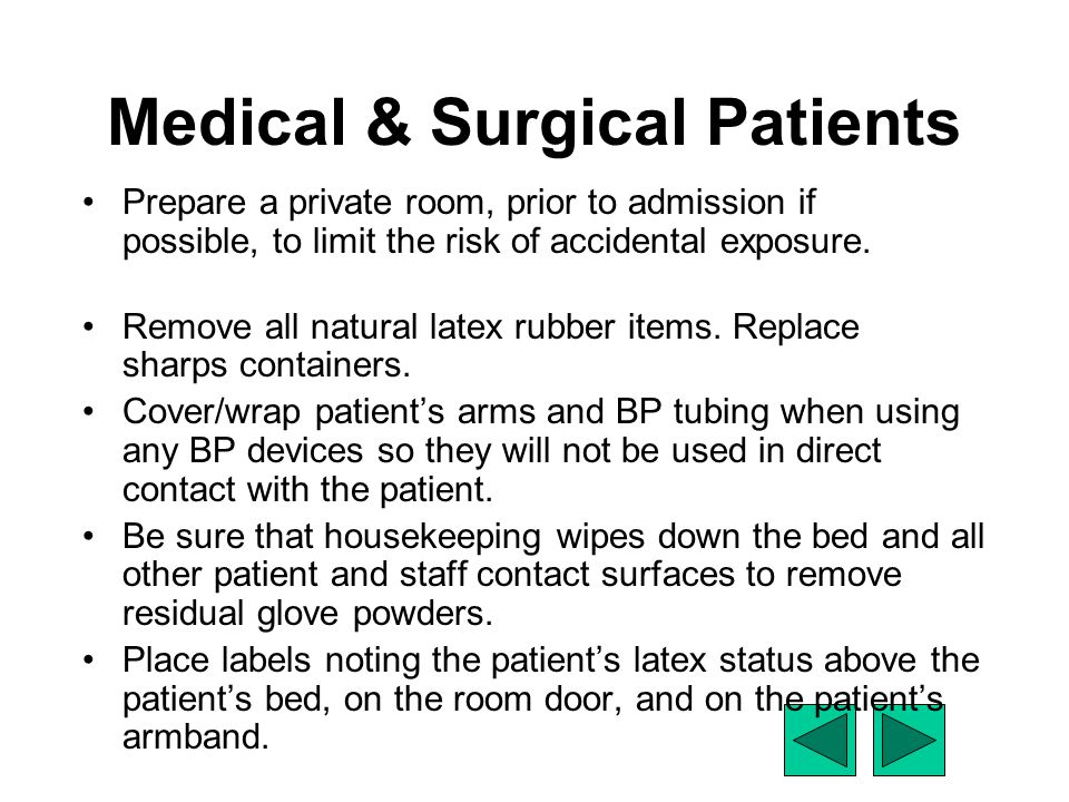 Medical & Surgical Patients