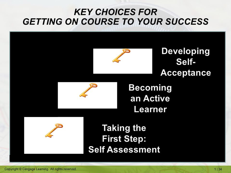 KEY CHOICES FOR GETTING ON COURSE TO YOUR SUCCESS