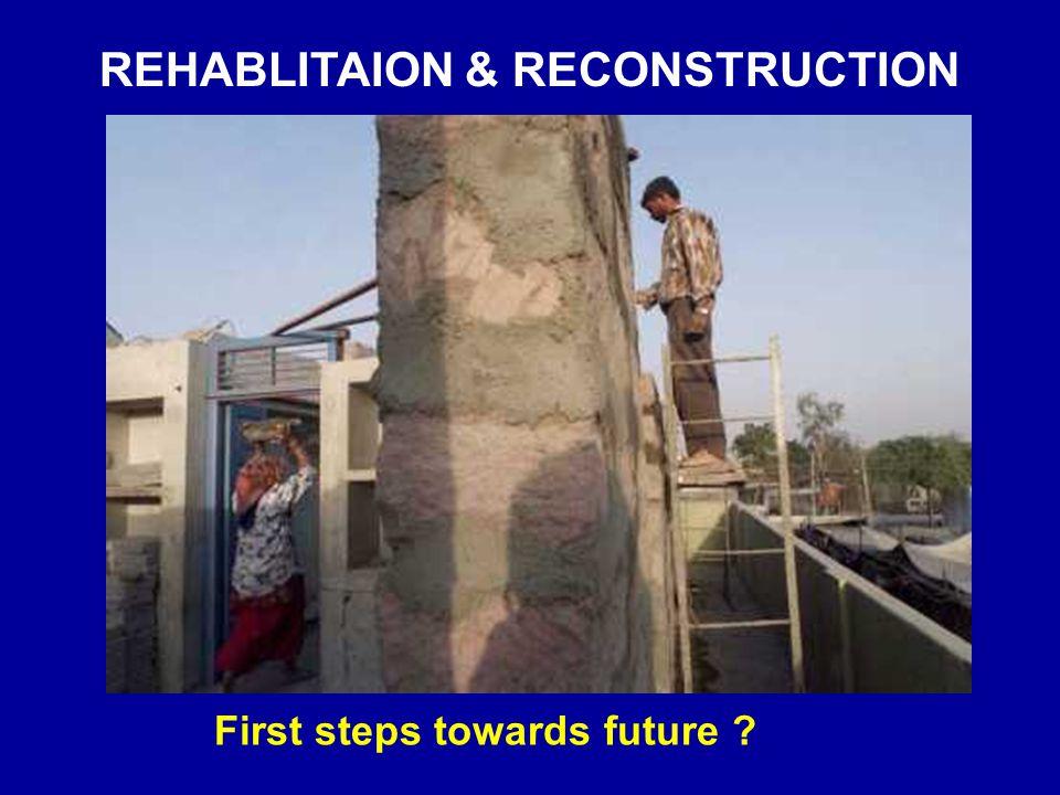 REHABLITAION & RECONSTRUCTION
