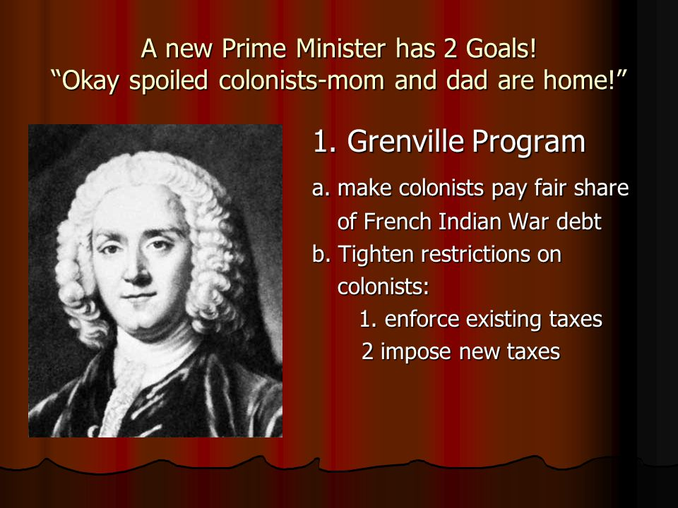 a. make colonists pay fair share
