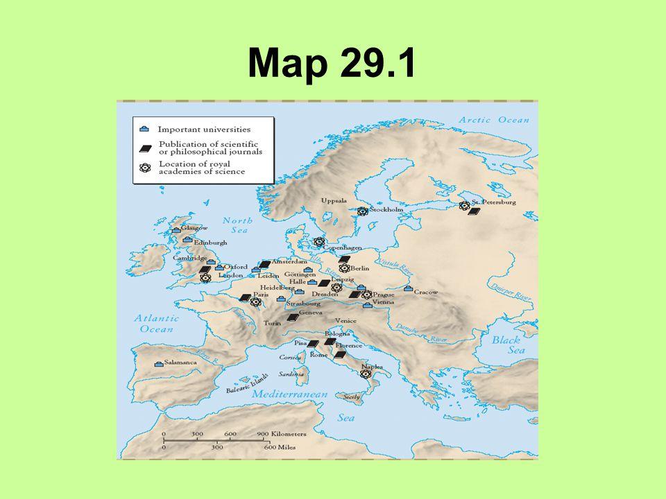 Map 29.1