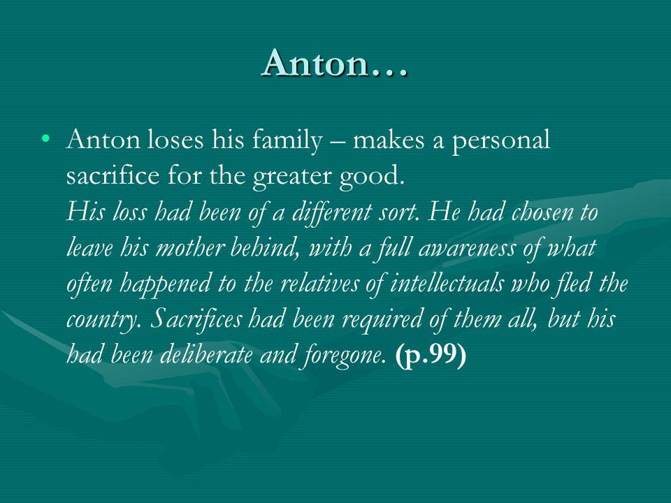 Anton…