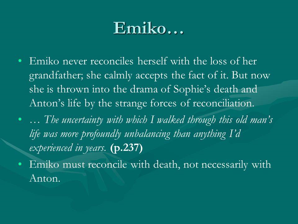 Emiko…