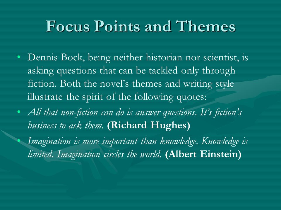 Focus Points and Themes