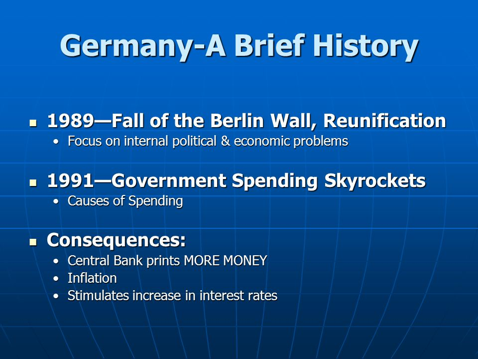 Germany-A Brief History