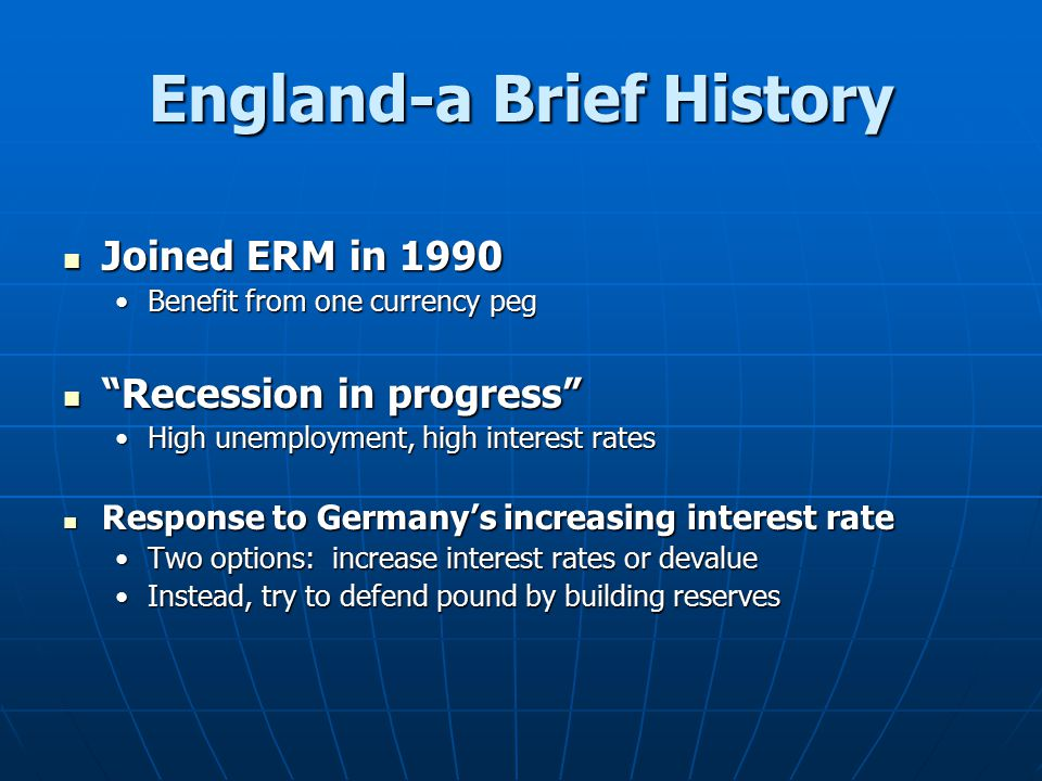 England-a Brief History