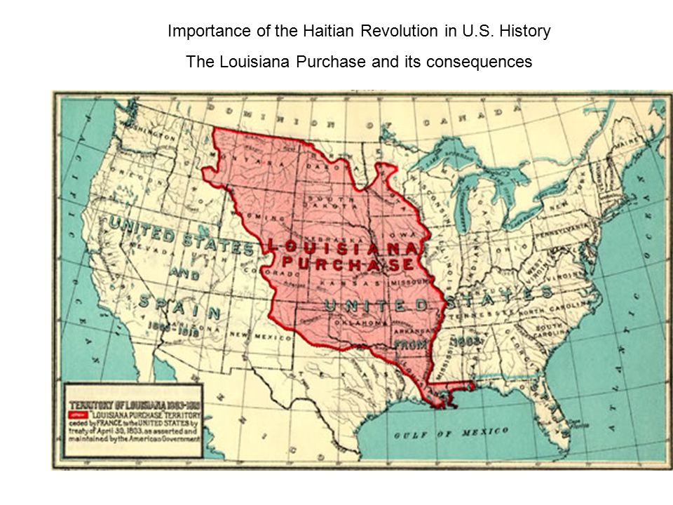 Importance of the Haitian Revolution in U.S. History