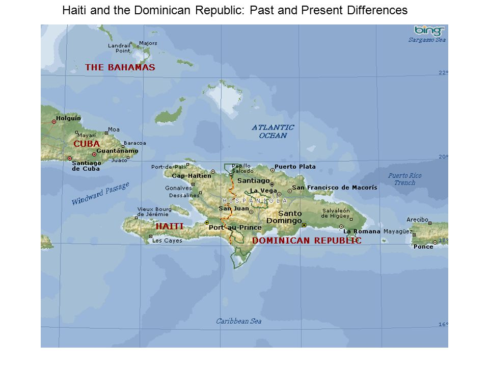 Haiti and the Dominican Republic: Past and Present Differences