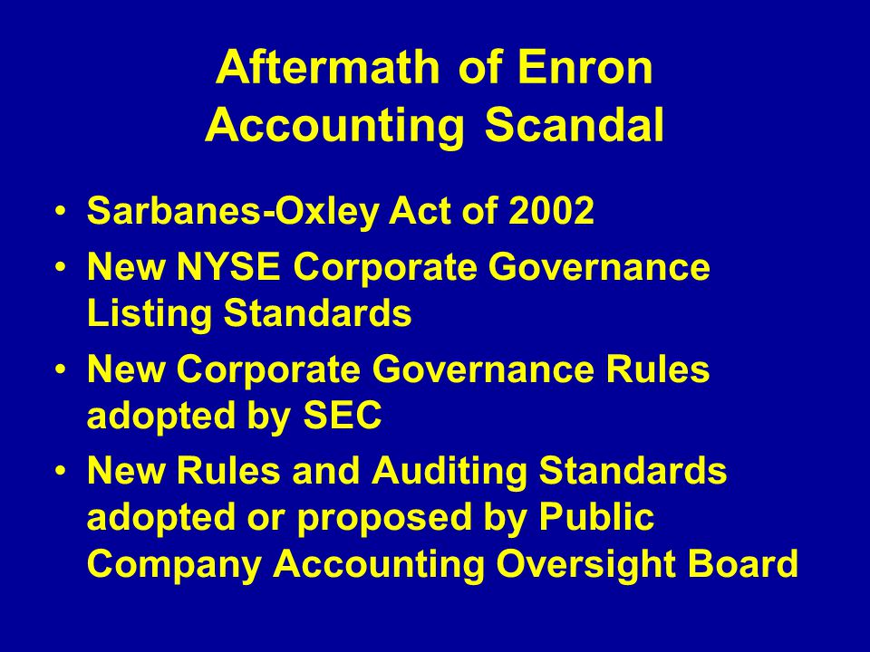 The world's biggest accounting scandals
