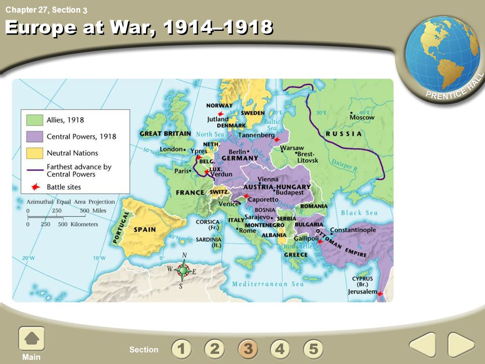 3 Europe at War, 1914–1918