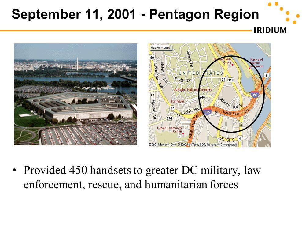 September 11, 2001 - Pentagon Region