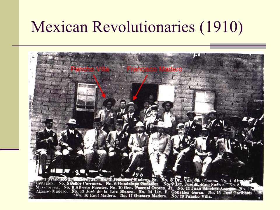 Mexican Revolutionaries (1910)