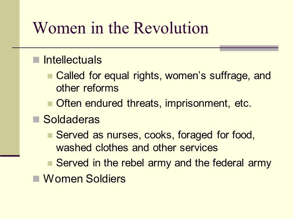 Women in the Revolution