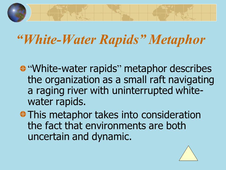 White-Water Rapids Metaphor