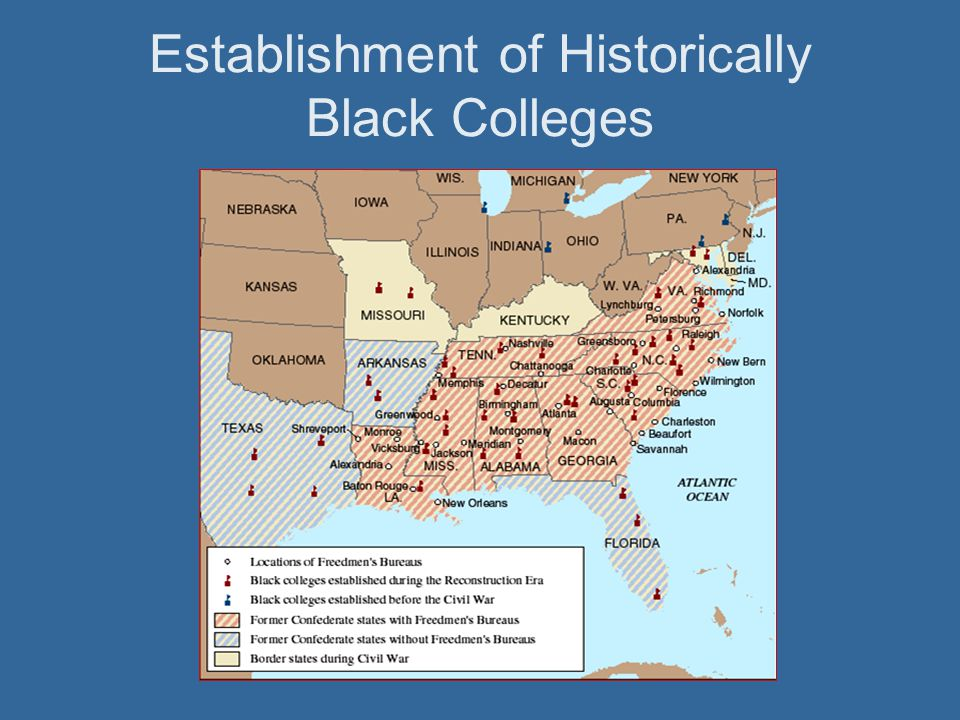 Establishment of Historically Black Colleges