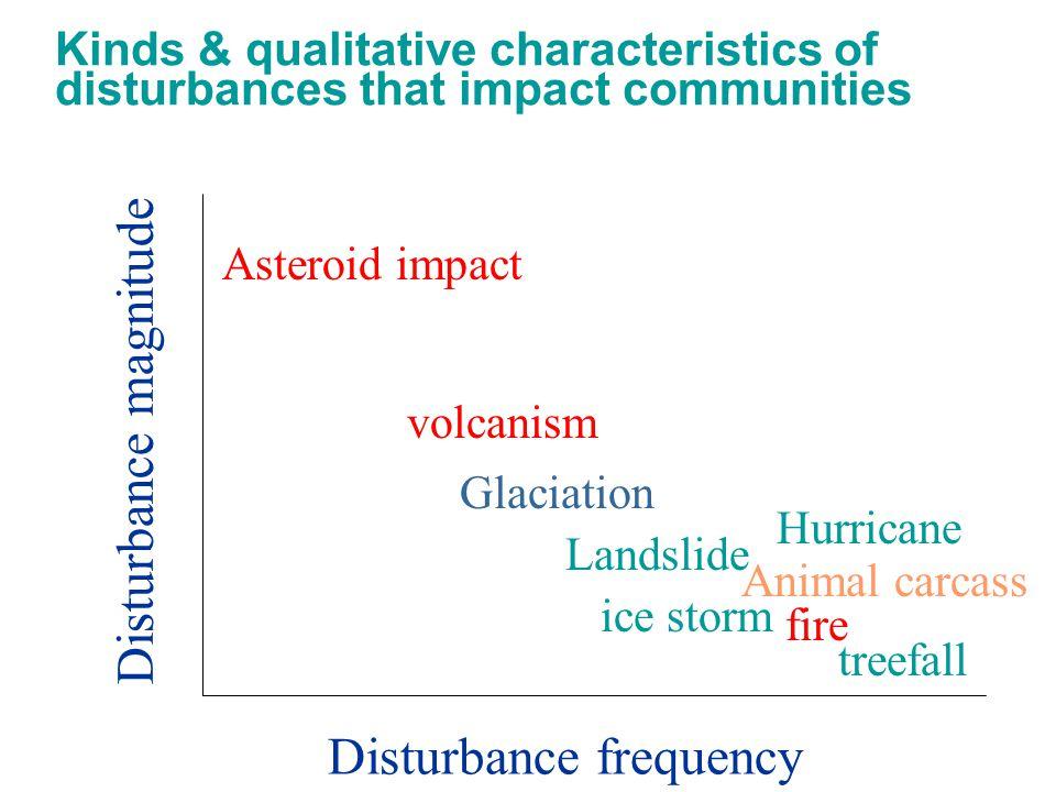 Disturbance magnitude