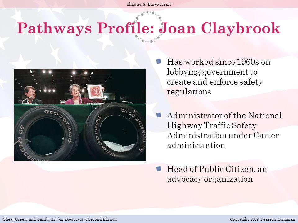 Pathways Profile: Joan Claybrook