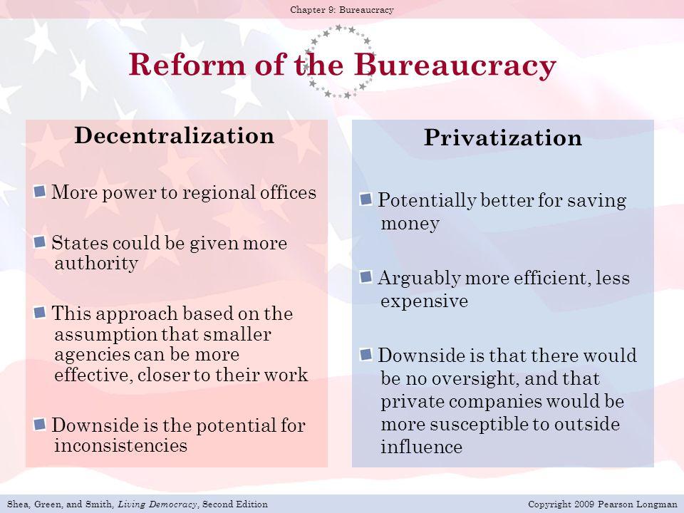 Reform of the Bureaucracy