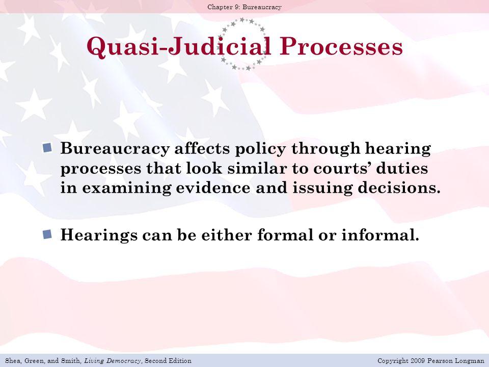 Quasi-Judicial Processes