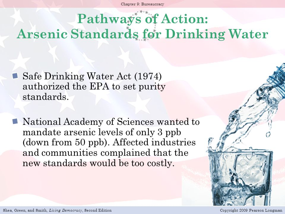 Pathways of Action: Arsenic Standards for Drinking Water