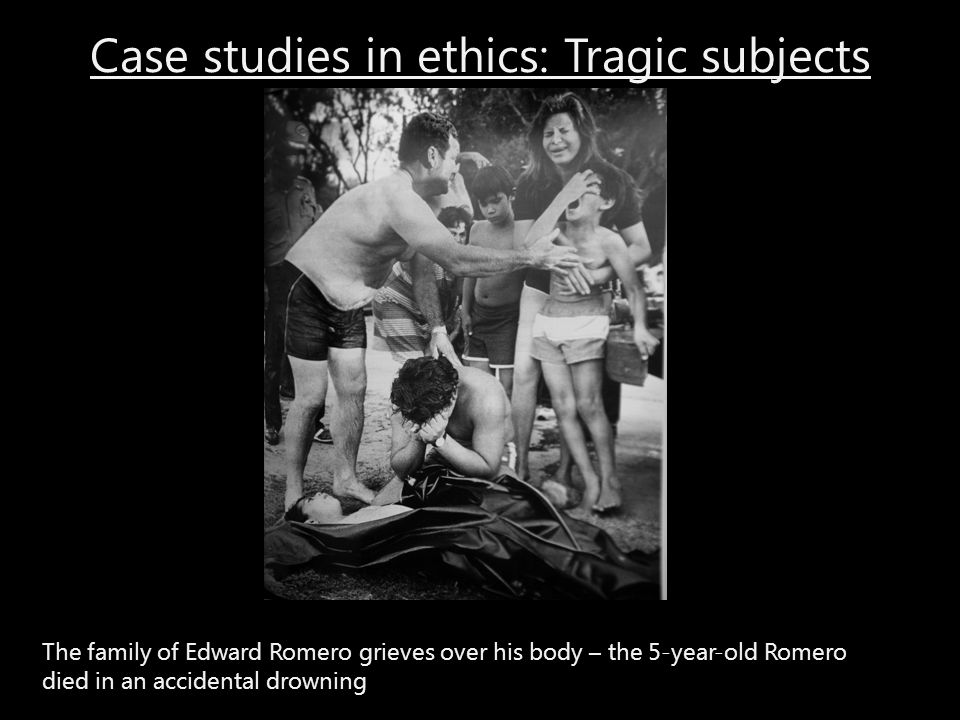 Case studies in ethics: Tragic subjects