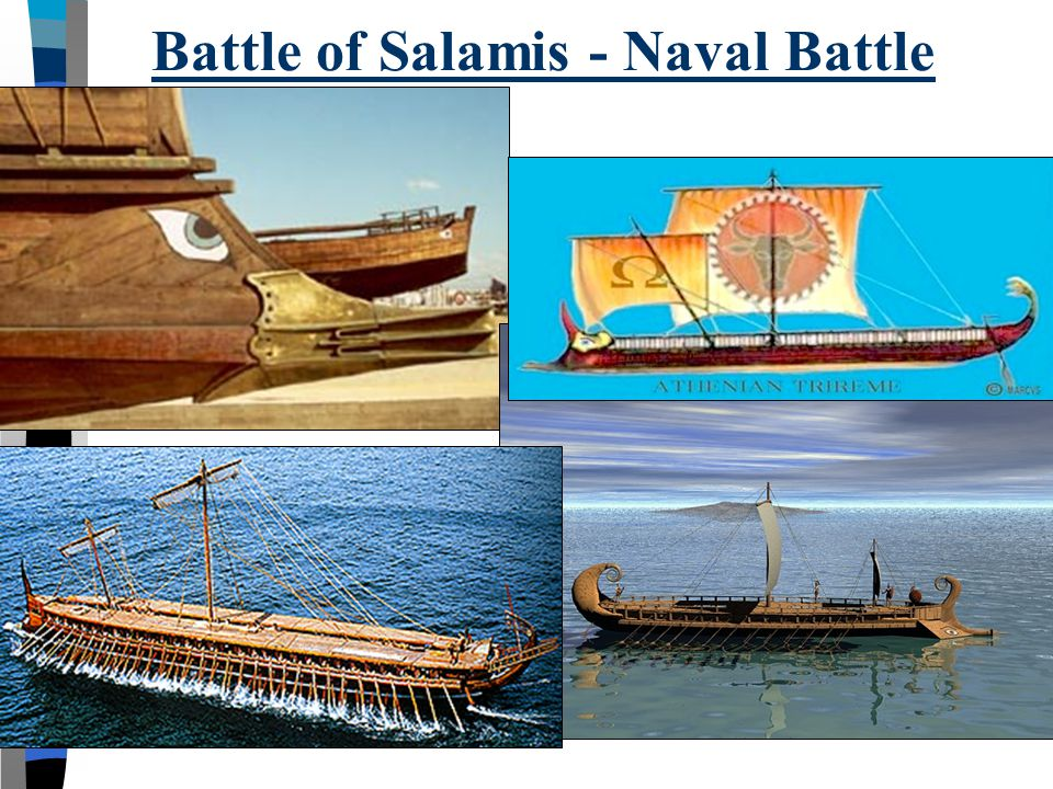Battle of Salamis - Naval Battle