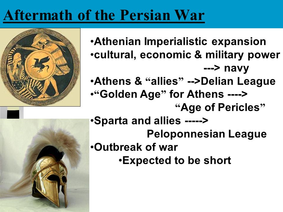 Aftermath of the Persian War