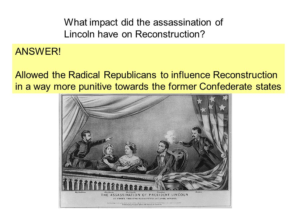 What impact did the assassination of