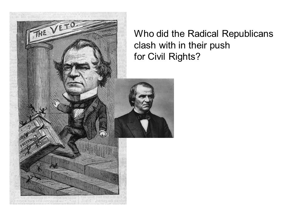 Who did the Radical Republicans