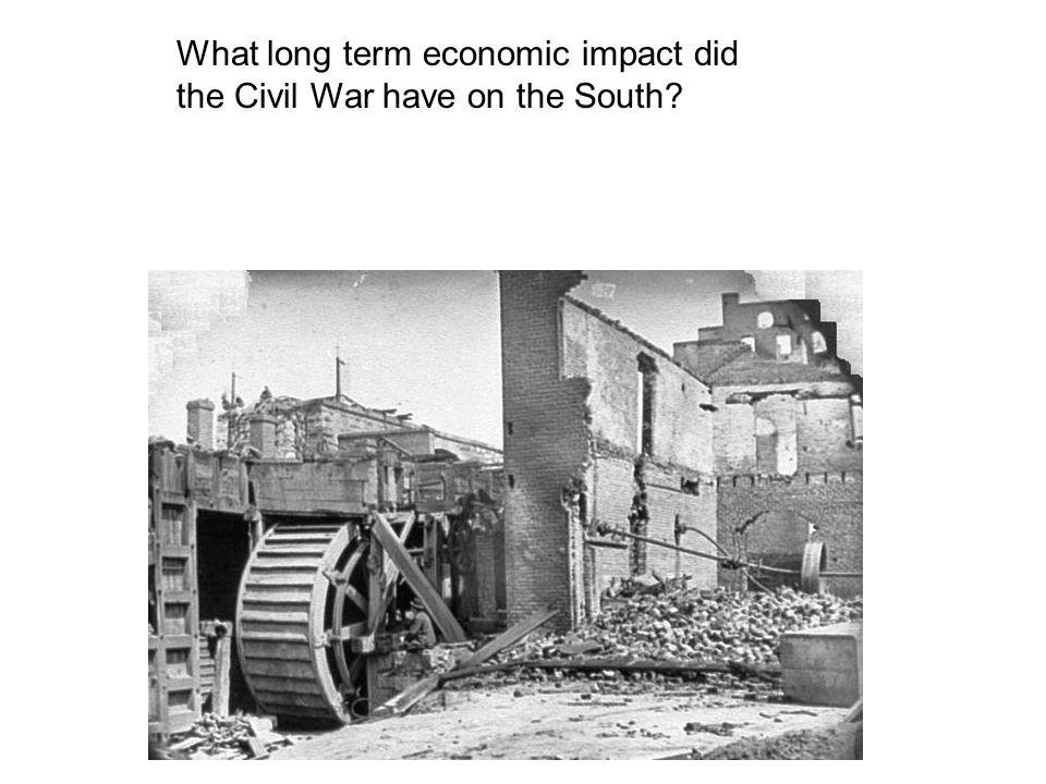 What long term economic impact did