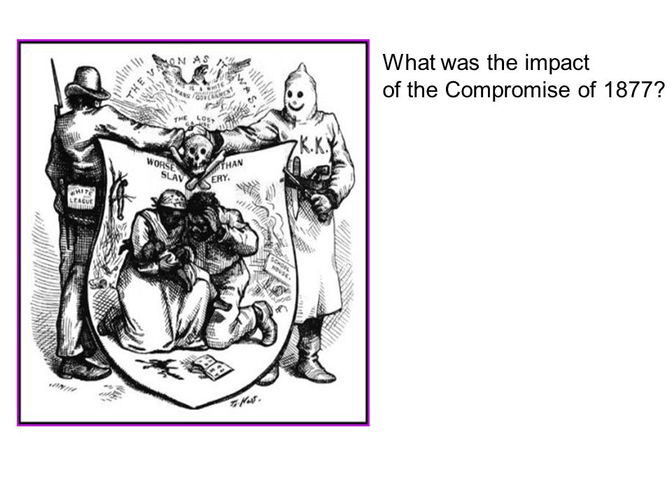 What was the impact of the Compromise of 1877