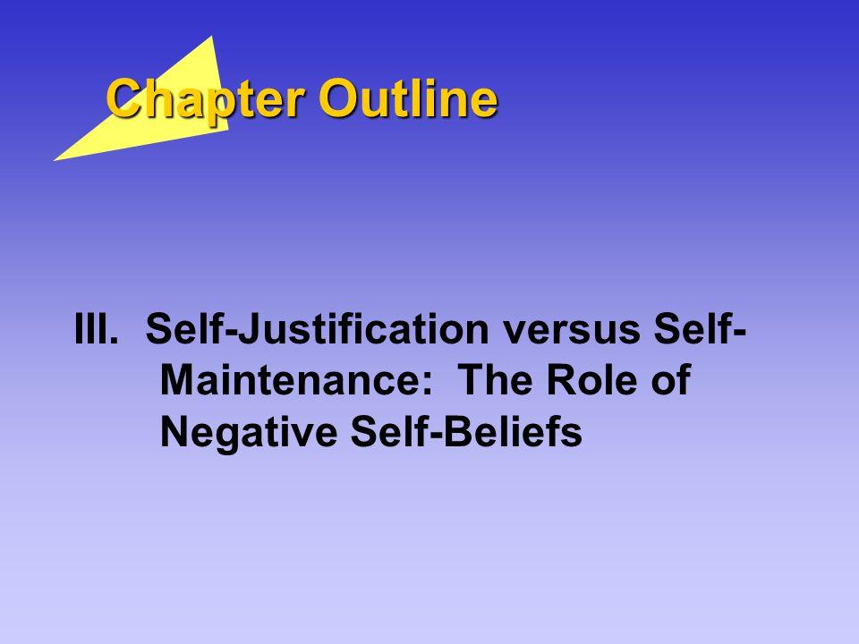 Chapter Outline III.