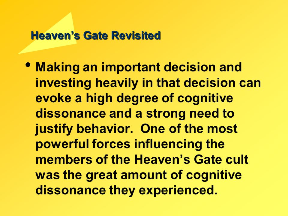 Heaven's Gate Revisited