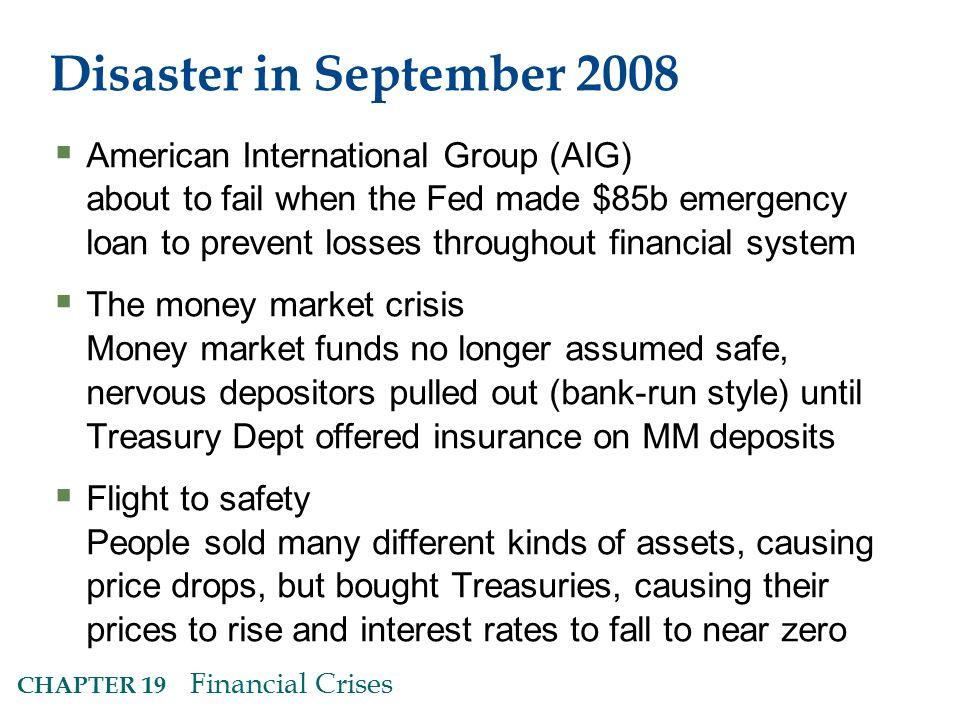 Disaster in September 2008