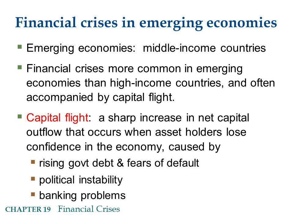 Financial crises in emerging economies