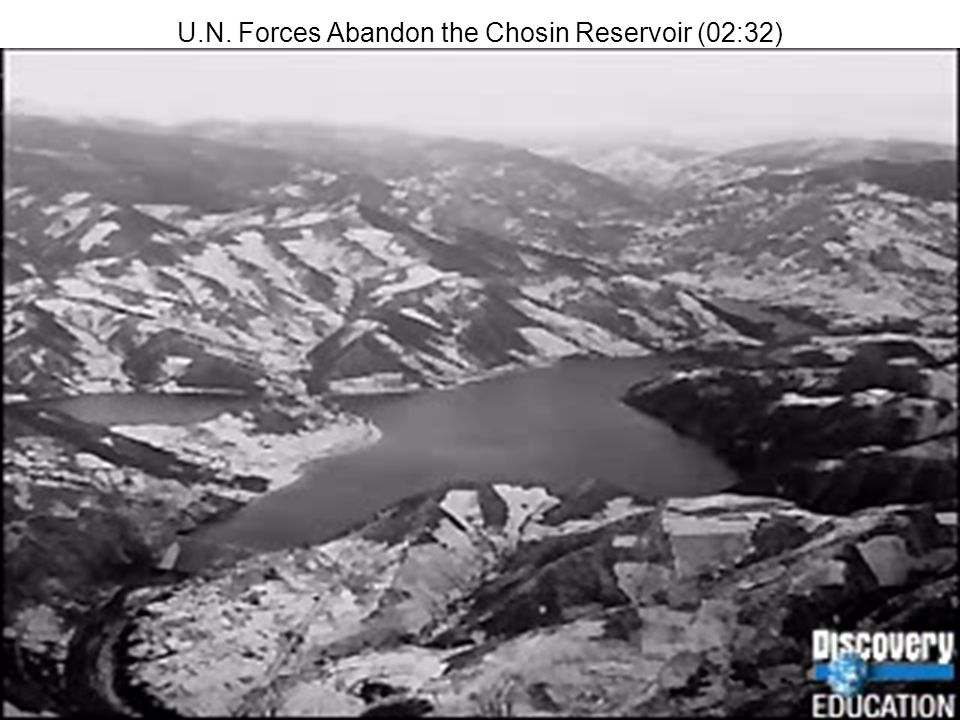 U.N. Forces Abandon the Chosin Reservoir (02:32)