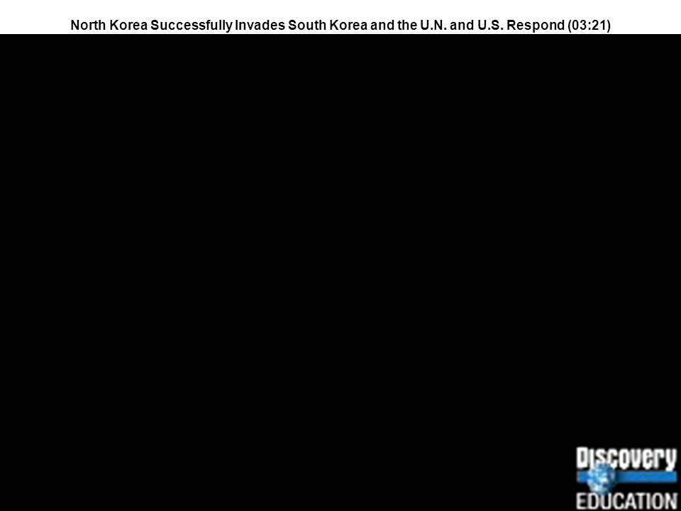 North Korea Successfully Invades South Korea and the U. N. and U. S