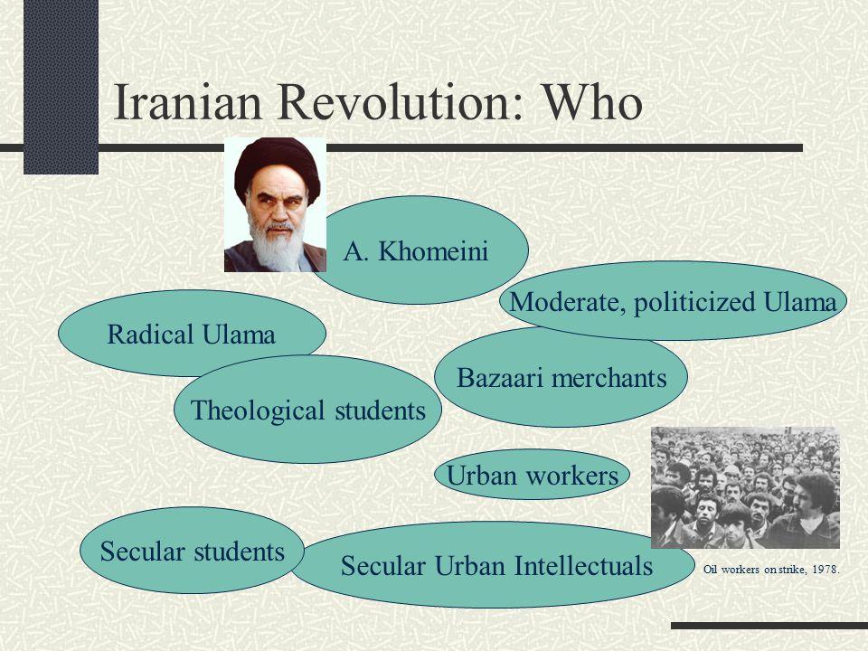 Iranian Revolution: Who