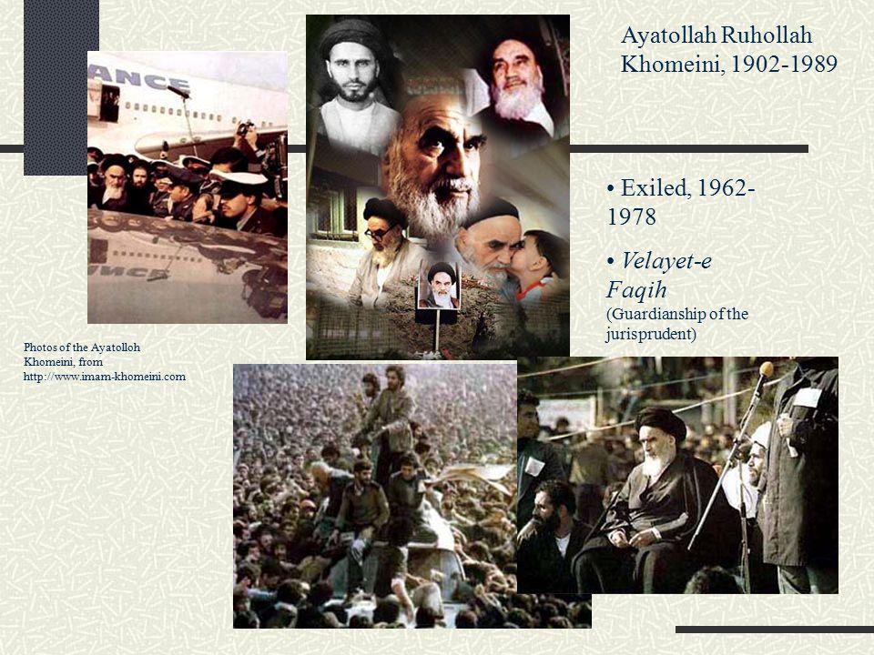 Ayatollah Ruhollah Khomeini, 1902-1989
