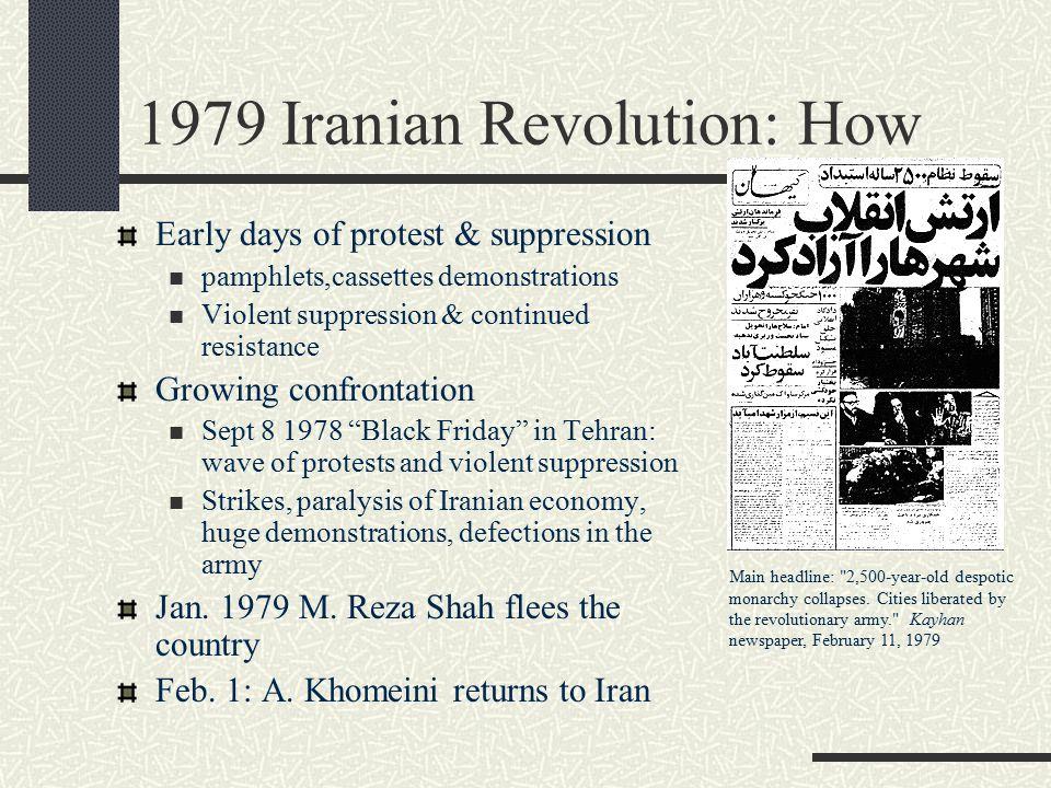 1979 Iranian Revolution: How