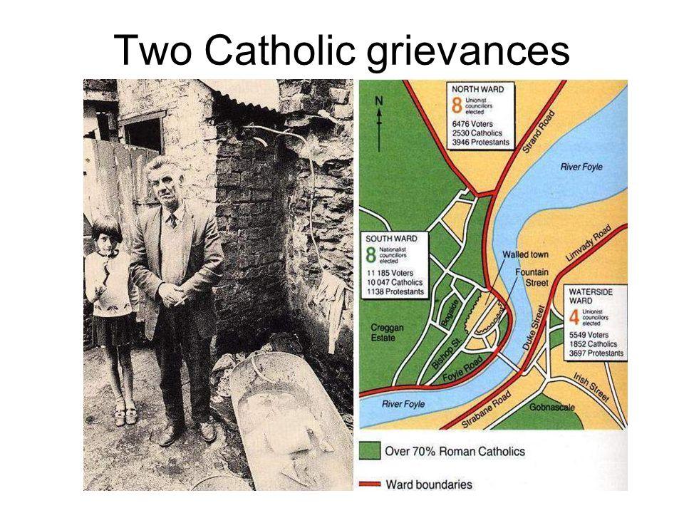 Two Catholic grievances