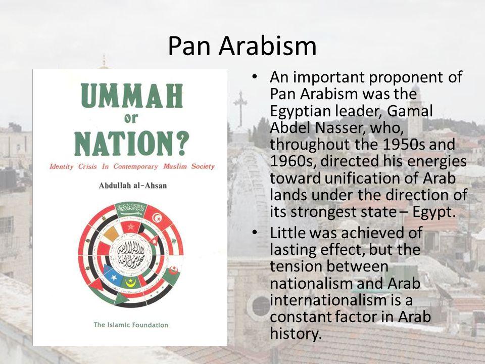 Pan Arabism