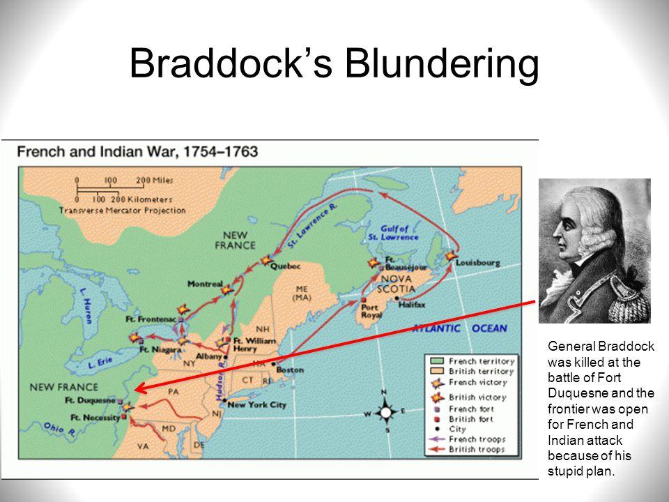 Braddock's Blundering