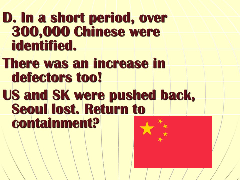 D. In a short period, over 300,000 Chinese were identified.
