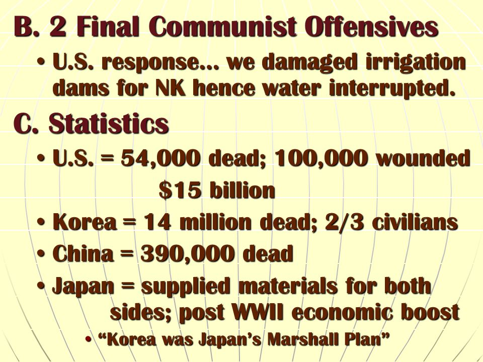 B. 2 Final Communist Offensives
