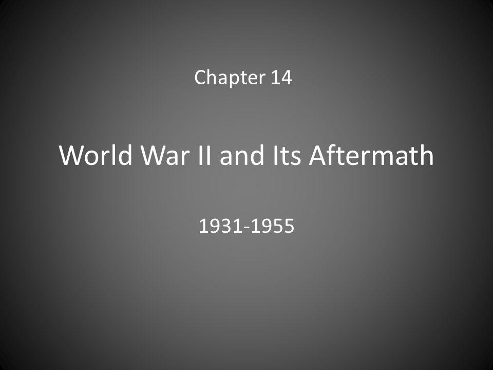 World War II and Its Aftermath