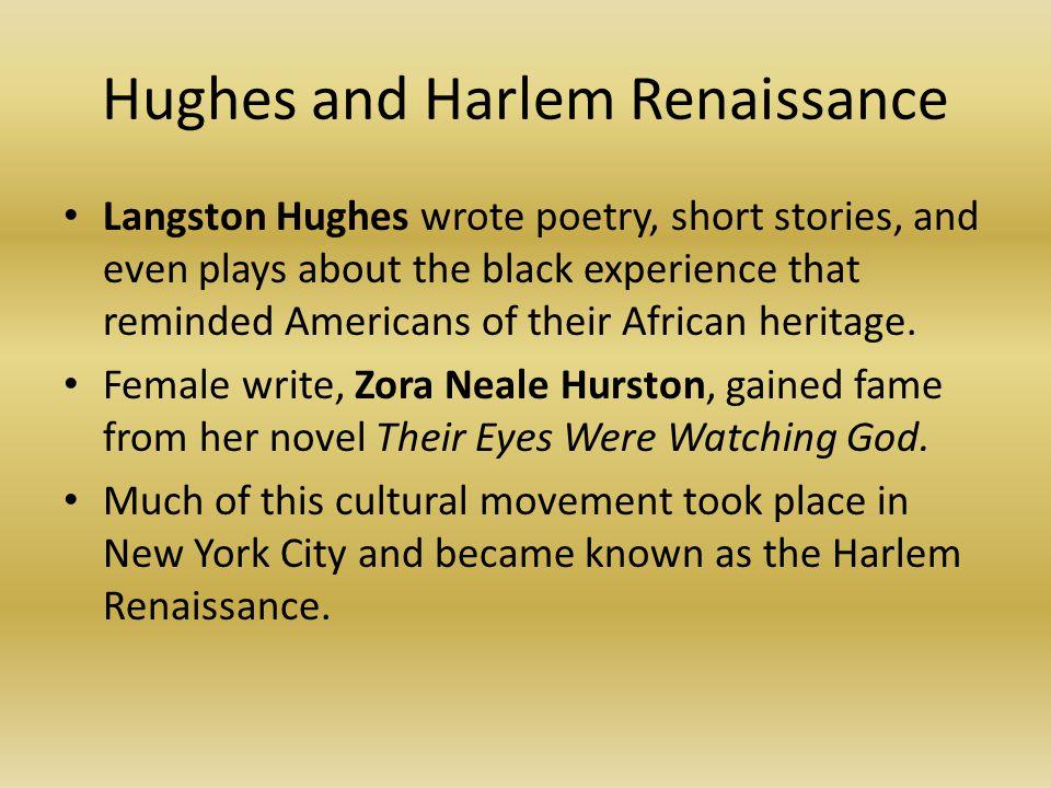 Hughes and Harlem Renaissance