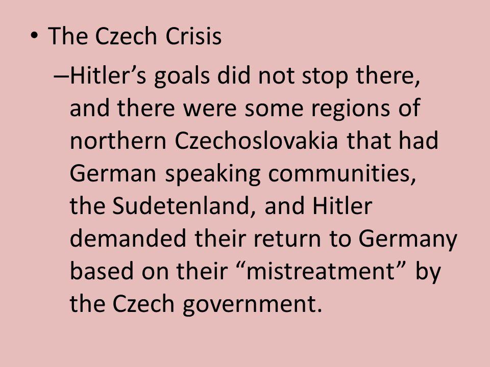 The Czech Crisis